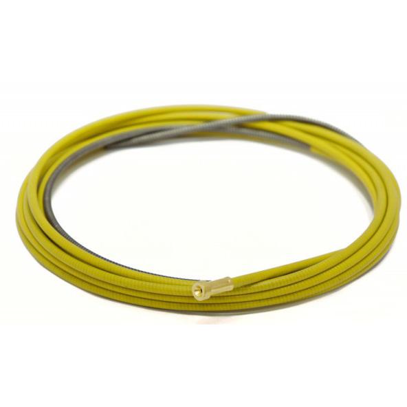Изолированный стальной канал жёлтый Ø 1.2-1.6mm (3м, 4м, 5м)