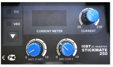 Панель управления инвертора Aurora Stickmate 250
