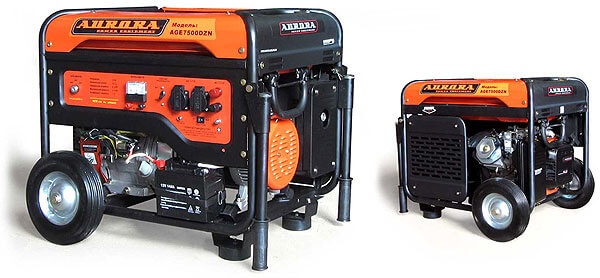 Бензиновый генератор Aurora AGE 7500 DZN