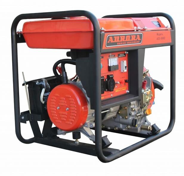 Дизельный генератор ADE 4500 D (3,5 кВт, 220В, электростартер)
