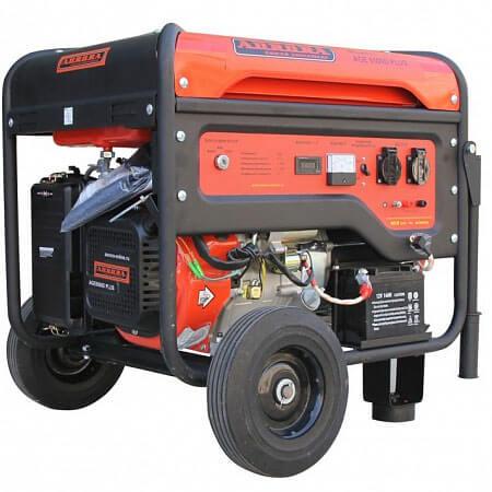 Бензогенератор Aurora AGE 8500 D PLUS (7,5 кВт, 220В, электростартер, счетчик)