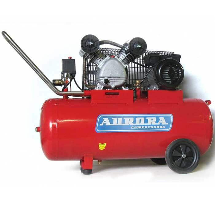 Воздушный компрессор Aurora Cyclon-100 (412 л/мин, 100л)