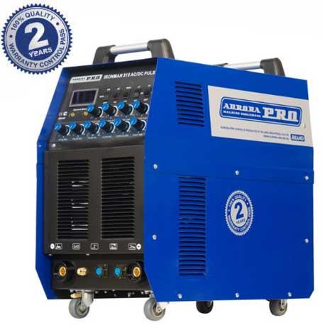 Аппарат аргонодуговой сварки Aurora PRO IRONMAN TIG 315 AC/DC PULSE (60%,  315А, сварка алюминия, пульс, TIG+MMA)
