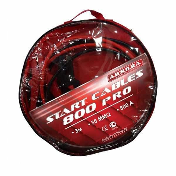Пусковой кабель Aurora START CABLES 800 PRO (3м, 800А, 35MMQ)