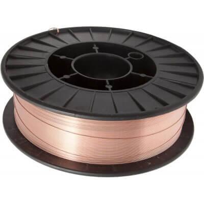Сварочная проволока KIRK ER70-G (омедненная) D200 для высокопрочной стали (d0.8 — 5кг)