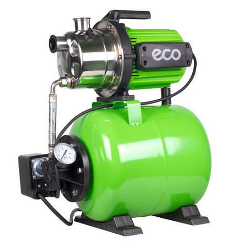 Насосная станция ECO GFI-1202 (1200 Вт, 3600 л/ч, бак 24л.) + шланг 8м с обратным клапаном!