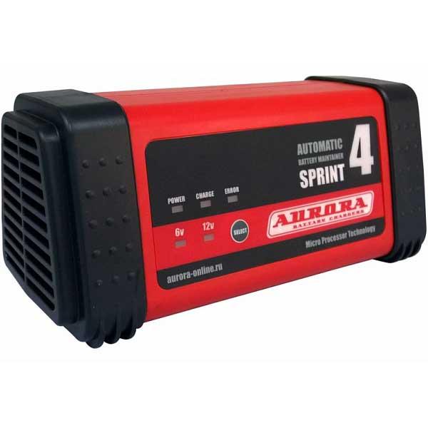 Интеллектуальное зарядное устройство Aurora SPRINT-4 (30-60 А*ч)