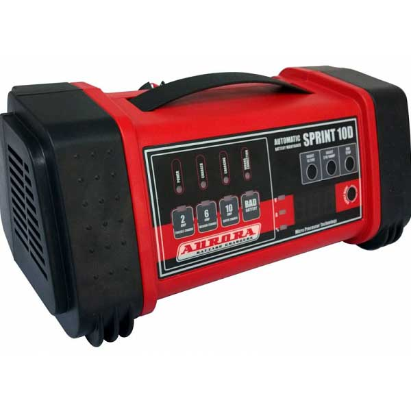 Интеллектуальное зарядное устройство SPRINT-10D (2-200 А*ч)