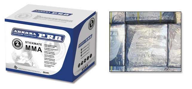 Упаковка сварочного инвертора Aurora Stickmate 250/2 Dual Energy