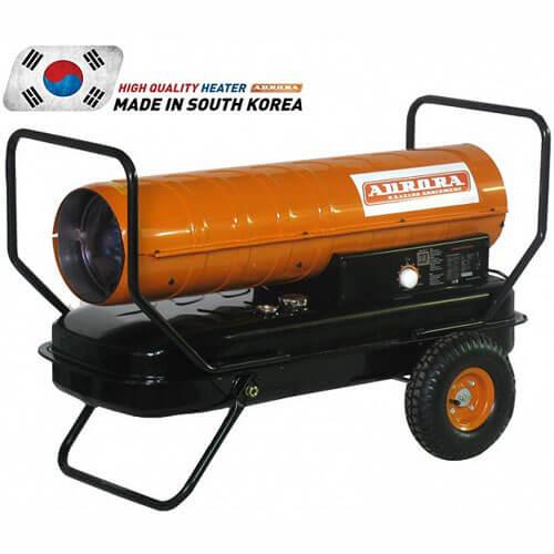 Дизельная тепловая пушка прямого нагрева Aurora TK-70000 (70 кВт, 220В, 1250 куб/ч)