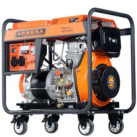 Дизельный генератор ADE 6500 D (5,5 кВт, 220В, электростартер)