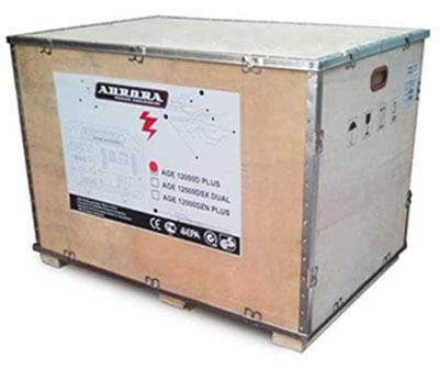 Упаковка бензинового генератора Aurora AGE 12000