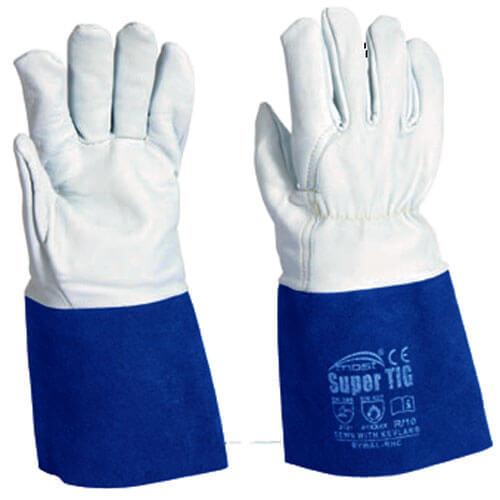 Перчатки (краги) сварочные MOST Super TIG 10 (мягкая кожа+спилк)