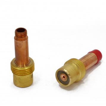 Держатель цанги с газовой линзой (GasLens) для горелок TIG17-18-26