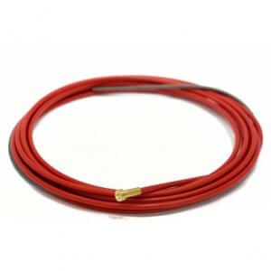 Изолированный стальной канал красный Ø 1.0-1.2mm