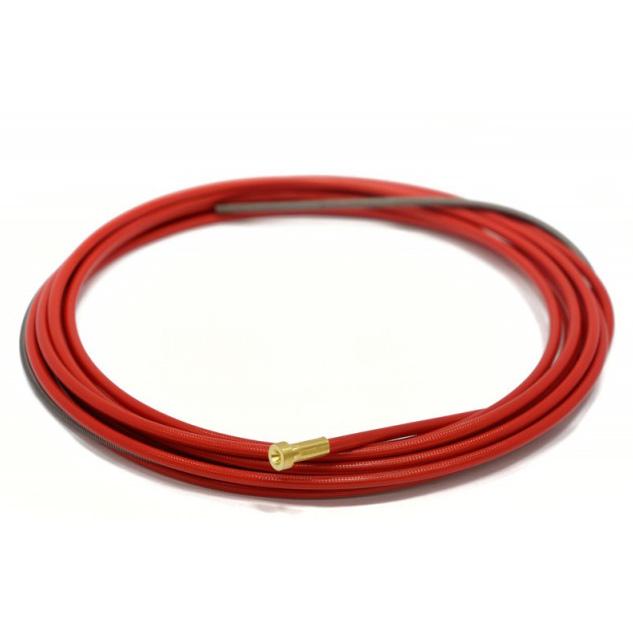 Изолированный стальной канал красный Ø 1.0-1.2mm (3м, 4м, 5м)