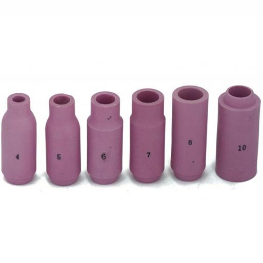 Сопла керамические для горелок TIG17-18-26
