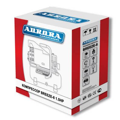 Упаковка компрессора поршневого Aurora Breeze-8