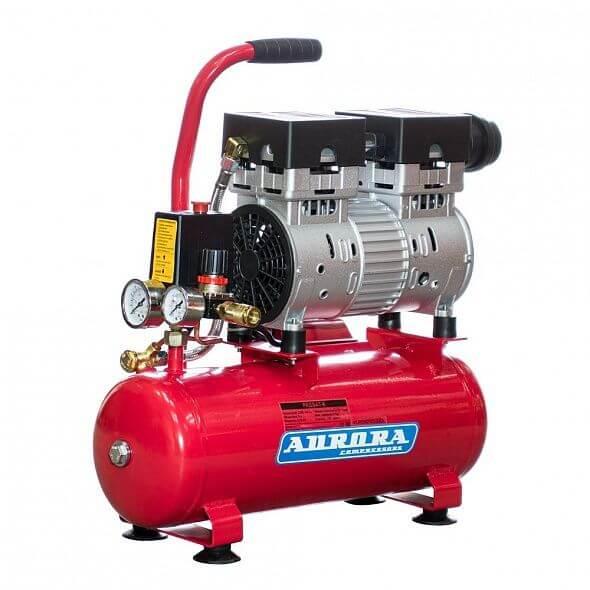 Безмасляный компрессор Aurora Passat-8 (Тихий!!!)
