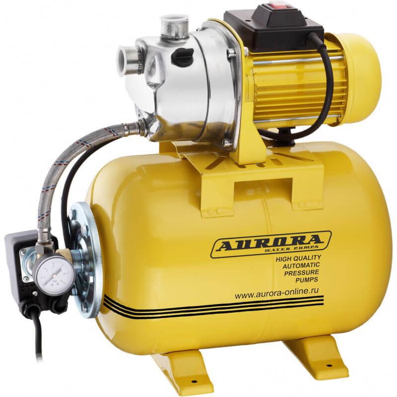 Насосная станция Aurora AGP 1200-25 INOX (1200Вт, 3700 л/ч, 24л)