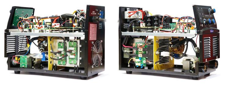 Сварочный инвертор Aurora Stickmate 250/2 Dual Energy в разборе