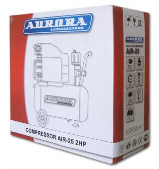 Упаковка воздушного компрессора коаксиального Aurora Air-25