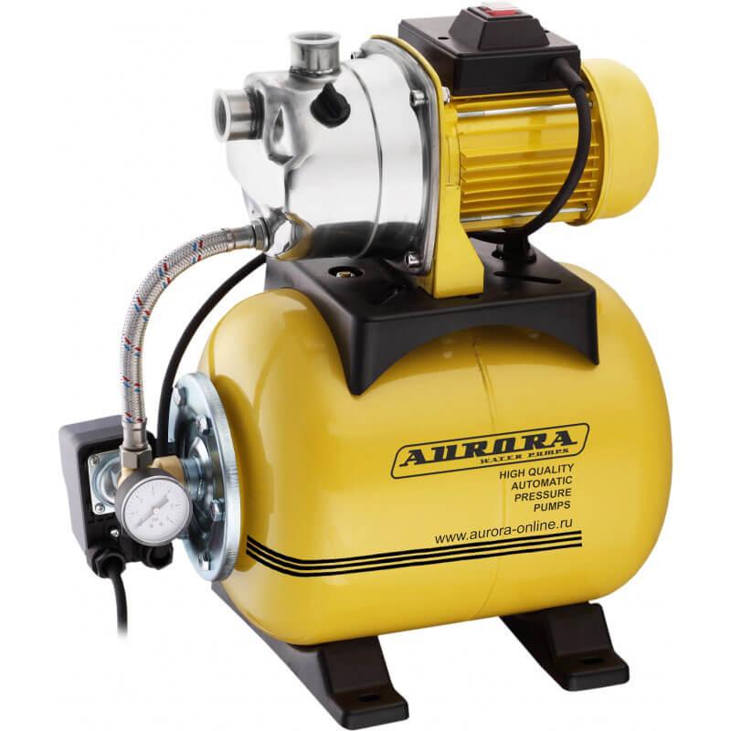 Насосная станция Aurora AGP 600-20 INOX (600Вт, 3000 л/ч, 19л)