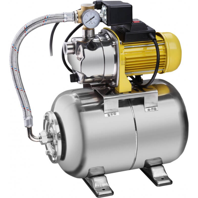 Насосная станция Aurora AGP 800-25 INOX PLUS (800Вт, 3200 л/ч, 25л)