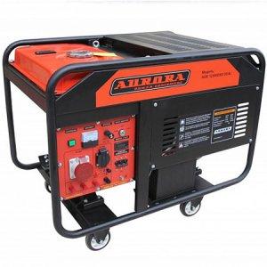 Бензогенератор с электростартером Aurora AGE 12000DSX на 10 кВт с 380В кВт