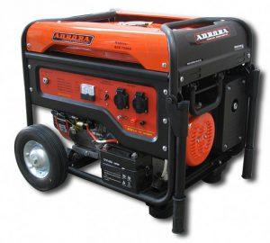 Бензогенератор с электростартером Aurora AGE 7500D на 6,5 кВт