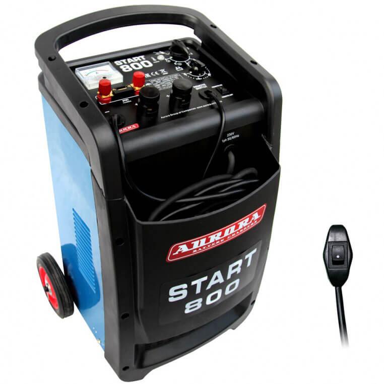 Пуско-зарядное устройство Aurora START 800 ДУ (Пуск — 800А, Заряд — 100А)