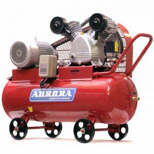 Поршневой воздушный компрессор с ременным приводом Aurora Tornado-110