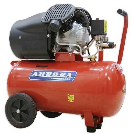 Воздушный компрессор Aurora GALE-50 (412 л/мин, 50л)