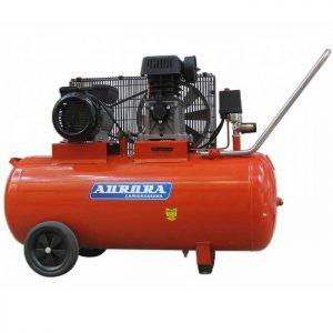 Поршневой воздушный компрессор с ременным приводом Aurora Storm-100