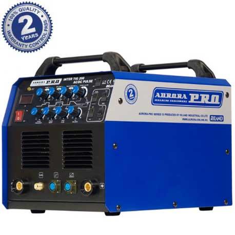 Аппарат аргонодуговой сварки Aurora PRO INTER TIG 200 AC/DC PULSE (Остерегайтесь подделок!)