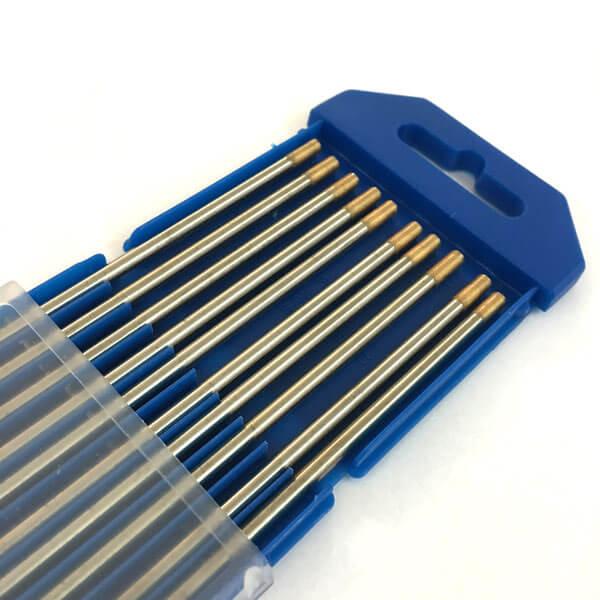 Вольфрамовый электрод WL 15 — D4,0х175mm GOLD (универсальные)