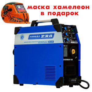 Сварочный инвертор AuroraPRO Overman 185 + Маска Aurora A777 Автомастер