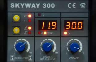 панель управления AuroraPRO SKYWAY 300