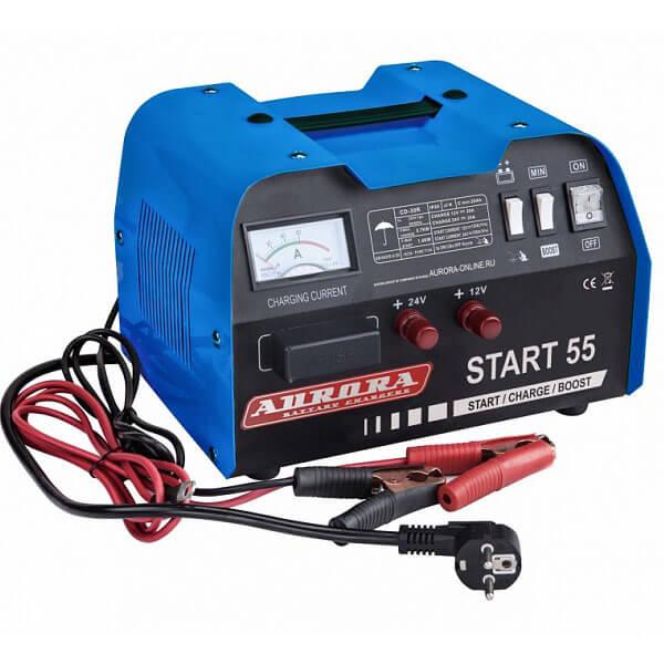 Пуско-зарядное устройство Aurora START 55 (Пуск-180А, Заряд-40А)