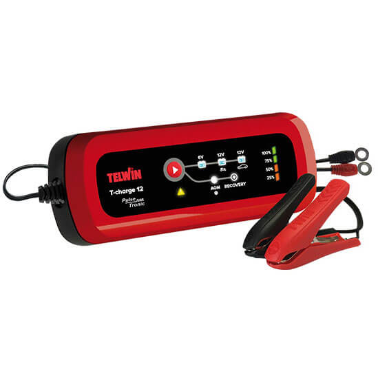 Интеллектуальное зарядное устройство TELWIN T-CHARGE 12 (2-70 А*ч)