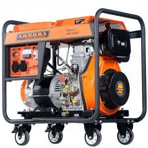 Дизельгенератор с электростартером Aurora ADE 6500D на 5,5 кВт