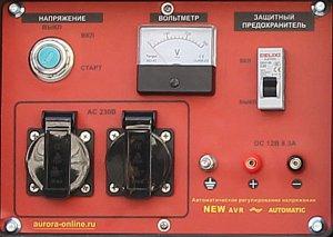 Панель дизельного генератора ADE 6500 D