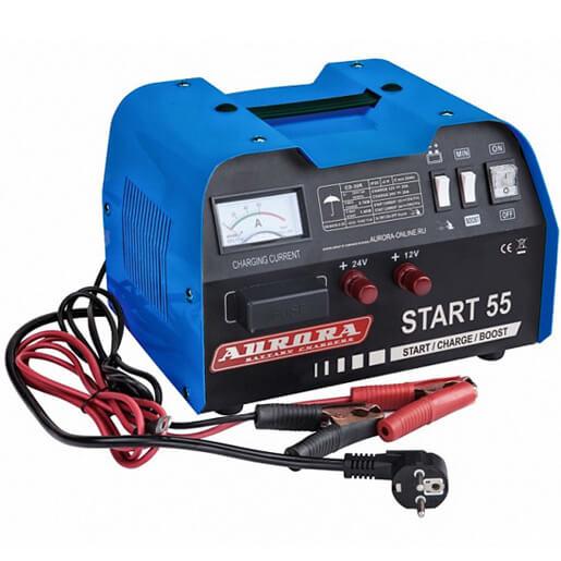Пуско-зарядное устройство Aurora START 55 (ПУСК — 180А, ЗАРЯД — 40А)