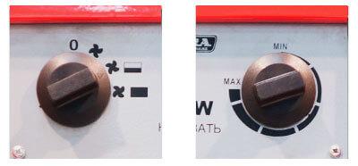 Электрическая тепловая пушка Aurora HEAT-3300 (управление)
